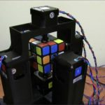Roboter löst den Rubiks Zauberwürfel in nur 1 andra