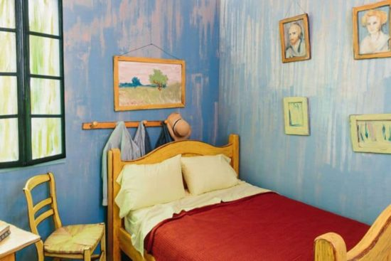 Sleeping in Van Gogh's Bedroom