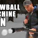 Snowball Machine Gun Bygg din egen