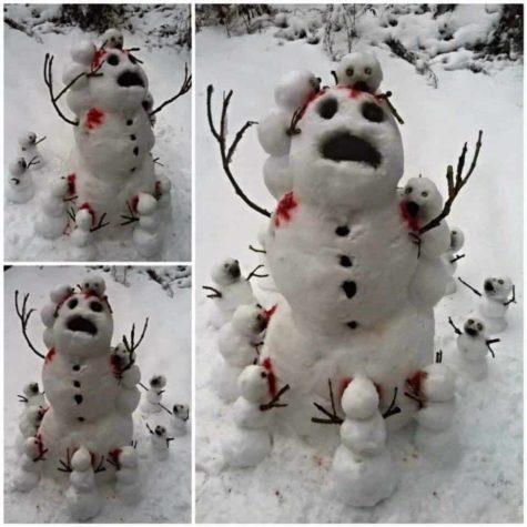 Überfall kannibalistischer Schneemänner