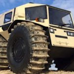 Sherp ATV: Easy ride on water and high obstacles