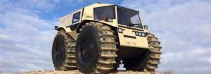 Sherp ATV: Problemlos über Wasser und hohe Hindernisse fahren