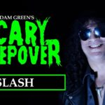 Slash discutendo film horror con Adam Green