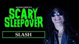 Slash discussing horror movies with Adam Green