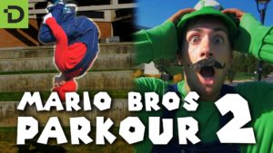 Super Mario Brothers Parkour 2