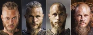 The great Hair Migration of Ragnar Lothbrok