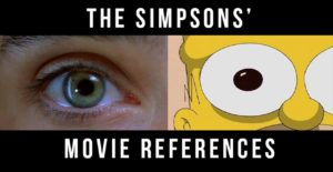 The Simpsons Movie referenser