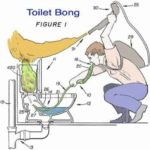 Das Toiletten Bong
