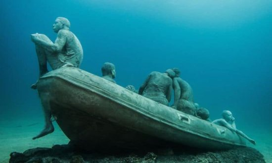 Europe's first underwater museum makes the seabed to the art gallery