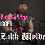 Zakk Wylde covert Black Sabbath on Hello Kitty guitar