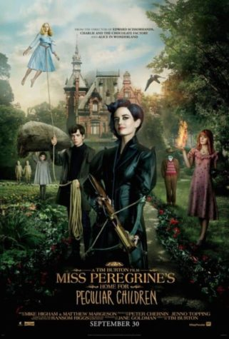 Miss Peregrine's Home for Peculiar Children - cartaz