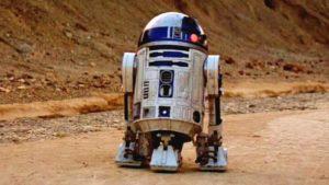 """Das """"Leben"""" z R2-D2 w 3 Protokół"""