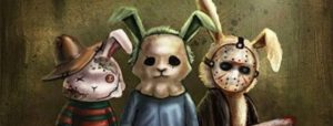Happy Easter Horror Bunnies ♡