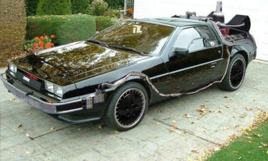 Knight Rider DeLorean: Twee legendarische auto's in één