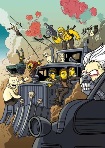 Mad Max Fury Strada Simpsonized