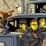 Mad Max Fury Route Simpsonized