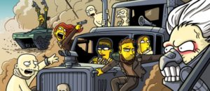 Mad Max Fury Road, Simpsonized