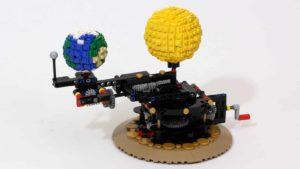 Planetenmaschine aus Lego