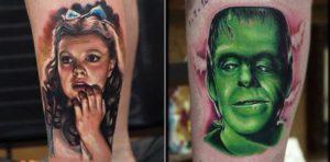 Movie-Tattoos von Rich Pineda