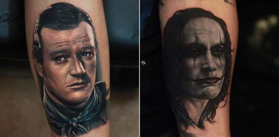 Movie-Tattoos von Rich Pineda