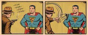 Superman ist ein Trottel
