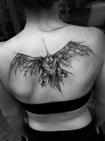 Tattooed Doodle by Inez Janiak