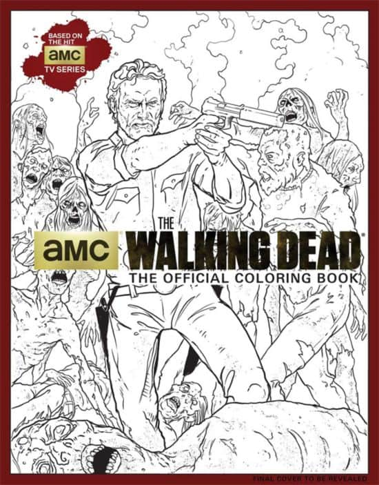"& Quot; The Walking Dead"" Libro de colorante para adultos"