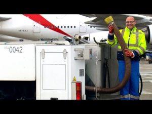 Was geschieht eigentlich mit dem Toiletten-Inhalt von Flugzeugen?