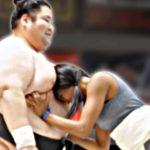 Si la gente común compiten contra los luchadores de sumo
