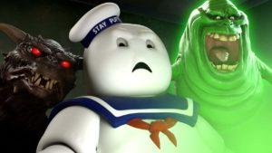 Zoals de marshmallow man reageert op de nieuwe Ghostbusters Trailer