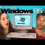 As today's youth on Windows 95 responds
