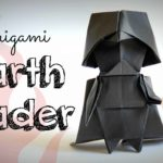 How to fold a origami Darth Vader