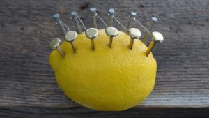 How to make a lemon fire