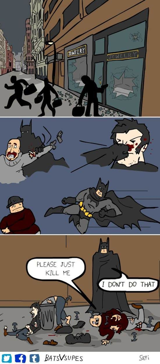 Batman Never Kills