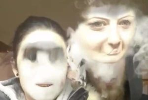 Vaporizer Face Swap
