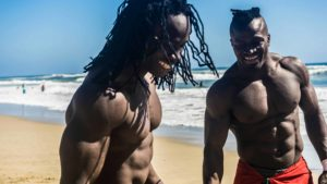 African Beasts Alseny and Sekou