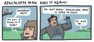 apokalyps Man