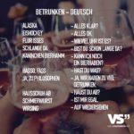 Betrunken – Deutsch