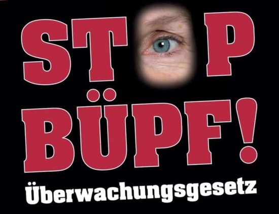 Petition against the revised surveillance law BÜPF