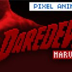 als Daredevil Intro 8-Bit animation