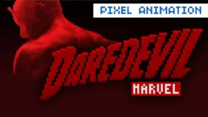Daredevil Intro als 8-Bit Animation