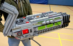 Doom BFG 9000 from over 5000 recreated Lego