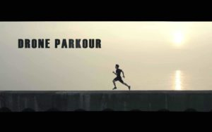 Drone Parkour: Parkour from the perspective of a drone