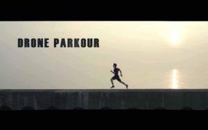 Drone Parkour: Parkour aus Sicht einer Drohne