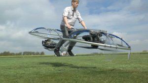 Fliegendes Hoverbike