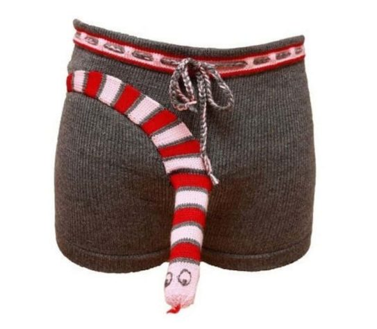 Knitted underwear for men
