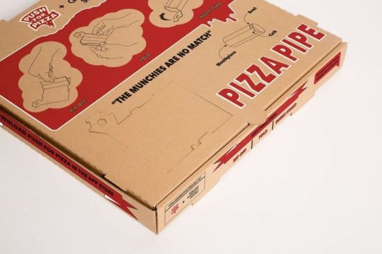 Hash Pipe fra en pizza box
