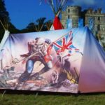 The Iron Maiden tent for very tough Open Air Visitors