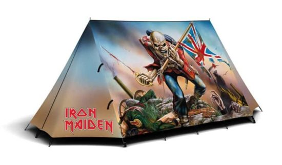 The Iron Maiden telt til meget hårde Open Air Besøgende