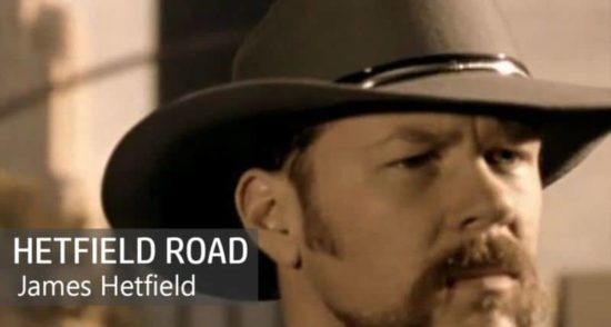 "James Hetfield verlässt Metallica und kündigt das Country Album ""Hetfield Road"" een"